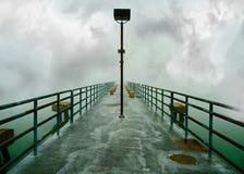Spooky Pier stock photos