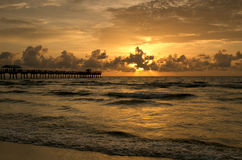 Fishing Pier @ Morning III Stock Photography