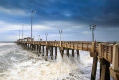 Fishing Pier Nags Head North Carolina Royalty Free Stock Photos