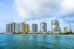 Fishing Pier in Sunny Isles Beach , Stock Image