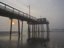 Fishing Pier at Sunrise Royalty Free Stock Image