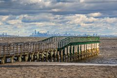 Fishing Pier With View royalty free stock photography
