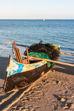 Fishing pirogue Royalty Free Stock Photos