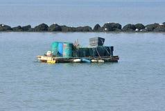 Fishing platform Royalty Free Stock Image