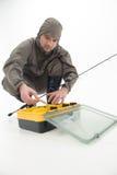 Fishing is always pleasure Royalty Free Stock Image