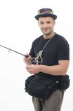 Fishing is always pleasure Stock Photography