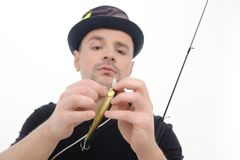 Fishing is always pleasure Royalty Free Stock Photo