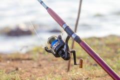 Free Fishing Pole Royalty Free Stock Photo - 50681795