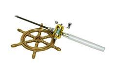 Free Fishing Pole And Wheel Stock Photo - 7591280