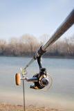 Fishing pole Stock Photo
