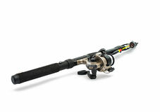Fishing pole isolated Royalty Free Stock Photography