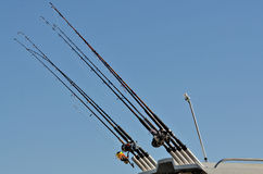 Fishing Poles Stock Photos