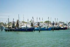 Fishing Pontoon Australia Stock Photo