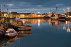 A Fishing port Royalty Free Stock Images