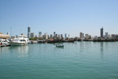Fishing port. In kuwait stock photo