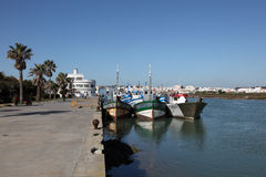 Fishing port of Barbate, Andalusia, Spain Stock Photos