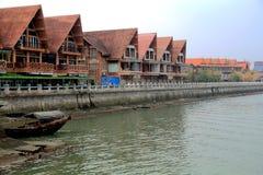 Fishing port in Beihai Stock Photos