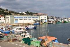 Fishing port of Canet de Mar, El Maresme, Stock Photos