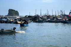 Fishing port Stock Images