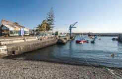 Fishing port Royalty Free Stock Image