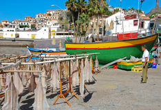 Fishing port Stock Image