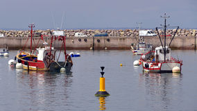 Fishing port of Erquy in France Stock Photography