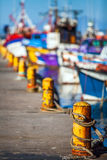 Fishing port of Fish Hoek. In the fishing port of Fish Hoek South Africa Royalty Free Stock Image