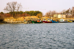 Fishing port Stock Photo
