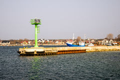Fishing port Stock Photography