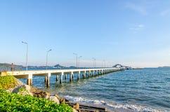 Fishing port or harbor Royalty Free Stock Image