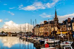Fishing port of Honfleur Stock Photo