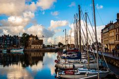 Fishing port of Honfleur Stock Image