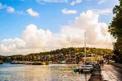 Fishing port of Honfleur Royalty Free Stock Image