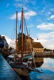 Fishing port of Honfleur Stock Images