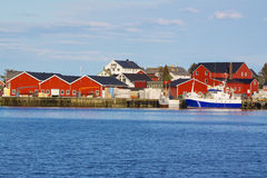 Fishing port Royalty Free Stock Photo