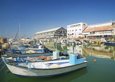 Fishing port in jaffa tel aviv israel Royalty Free Stock Photography
