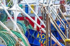 Fishing port of Kolobrzeg, Poland Stock Photos