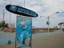 Fishing port in Manta, Ecuador Stock Image