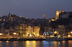 Fishing port of Oporto Stock Images