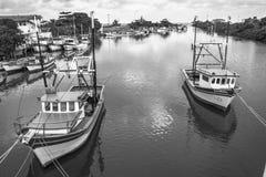 Fishing port Royalty Free Stock Photos