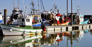 Fishing port of Pornic in France Stock Image