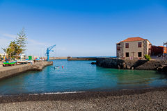 Fishing Port in Puerto de la Cruz, Tenerife Royalty Free Stock Image
