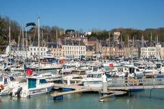 Fishing port of Saint Valery en Caux Stock Photos