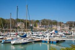 Fishing port of Saint Valery en Caux Stock Photography