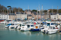 Fishing port of Saint Valery en Caux, Normandy Royalty Free Stock Images