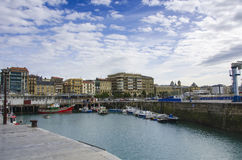 Fishing port of San Sebastian,Spain Stock Photography