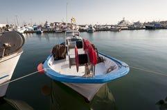 Fishing port of Santa Pola Royalty Free Stock Photography