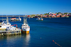 Fishing port Royalty Free Stock Image