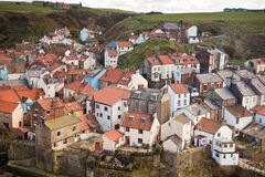 Fishing port of Staithes Royalty Free Stock Image