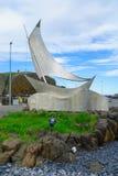 The fishing port, in Stykkisholmur Stock Photos
